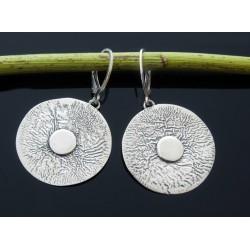 Oryginalne srebrne kolczyki OP64