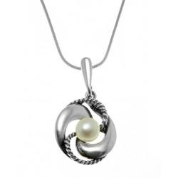 Wisiorek z perłą BN104