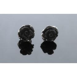 Czarne róże na sztyfty BN54