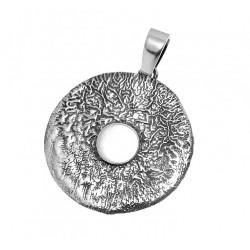 Ręcznie robiony srebrny wisiorek OP64