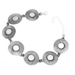 Oryginalna bransoleta ze srebra OP64
